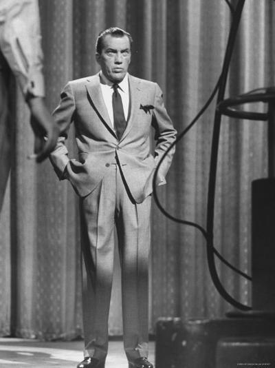 TV Showman, Ed Sullivan-Yale Joel-Premium Photographic Print