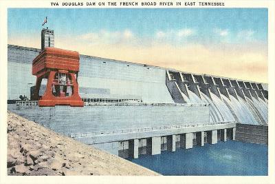 TVA Douglas Dam--Art Print