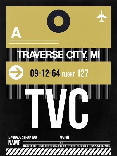 TVC Traverse City Luggage Tag II-NaxArt-Art Print