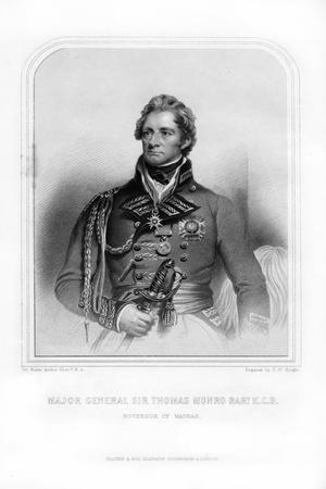 Sir Thomas Munro, Scottish Soldier and Statesman
