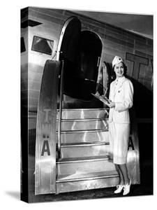 TWA Stewardess