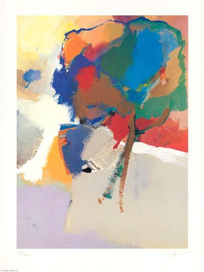Twee Boomen-Jan Biessen-Art Print