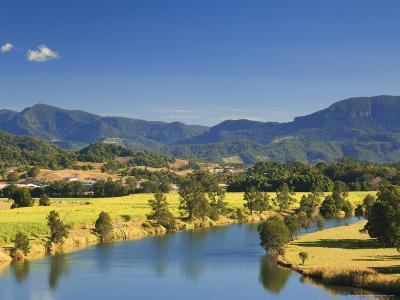 Tweed River, Near Murwillumbah, New South Wales, Australia, Pacific-Jochen Schlenker-Photographic Print
