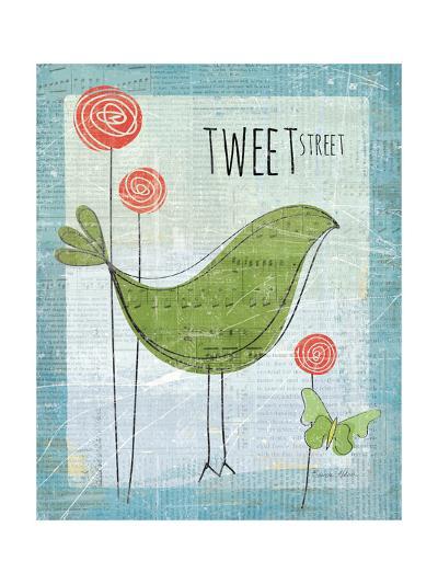 Tweet Street-Belinda Aldrich-Premium Giclee Print
