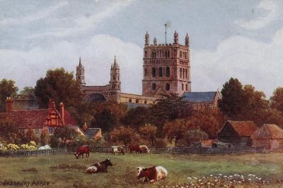 Twekesbury Abbey-Alfred Robert Quinton-Giclee Print