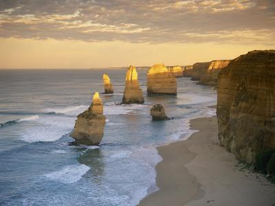 Twelve Apostles Along the Coast on the Great Ocean Road in Victoria, Australia, Pacific-Gavin Hellier-Photographic Print