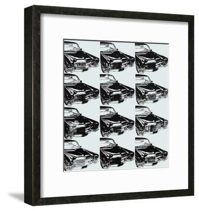 Twelve Cars, 1962-Andy Warhol-Framed Art Print