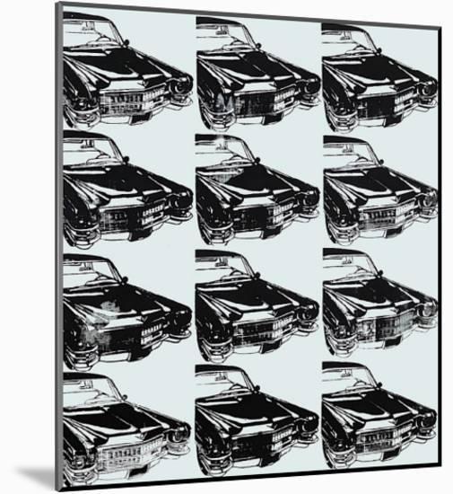Twelve Cars, 1962-Andy Warhol-Mounted Art Print