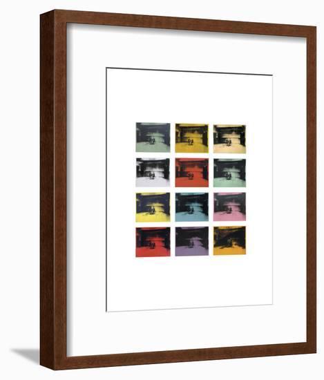 Twelve Electric Chairs, 1964/65-Andy Warhol-Framed Art Print