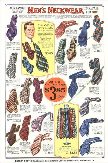 Twenties Clothes Catalog--Art Print
