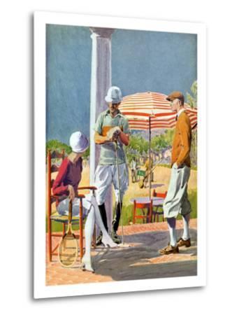 Twenties Polo Match