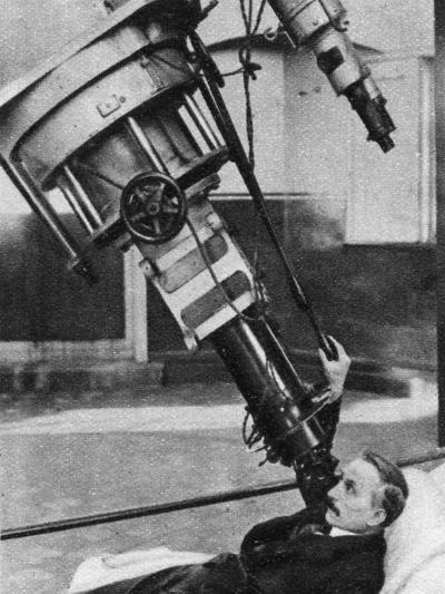 Twenty-Eight-Inch Reflecting Telescope, Greenwich Observatory, London, 1926-1927--Giclee Print