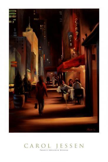 Twenty-Seventh Avenue-Carol Jessen-Art Print