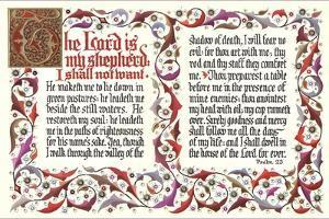 Twenty-Third Psalm