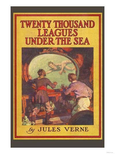 Twenty Thousand Leagues under the Sea--Art Print