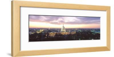 Twilight, Capitol Building, Washington DC, District of Columbia, USA