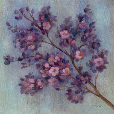 Twilight Cherry Blossoms II--Art Print