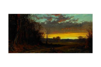 Twilight in the Wilderness, 1865-Alfred Thompson Bricher-Giclee Print