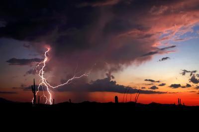 Twilight Lightning I-Douglas Taylor-Photo