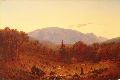 Twilight on Hunter Mountain-Sanford Robinson Gifford-Giclee Print