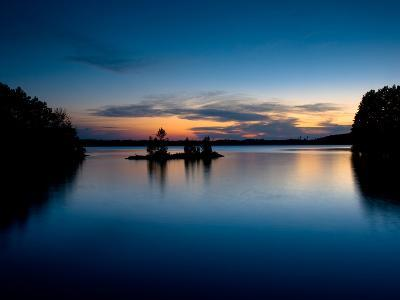 Twilight on the Lake IV-Beth Wold-Photographic Print