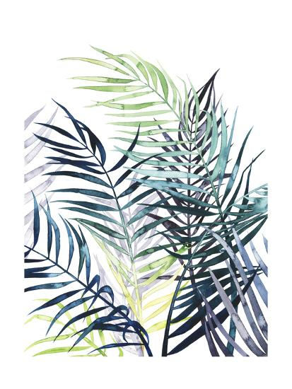 Twilight Palms I-Grace Popp-Art Print