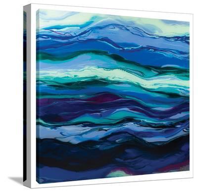 Twilight Rhythm-Barbara Biolotta-Stretched Canvas Print