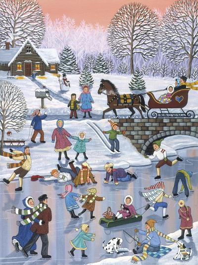 Twilight Skaters-Sheila Lee-Giclee Print