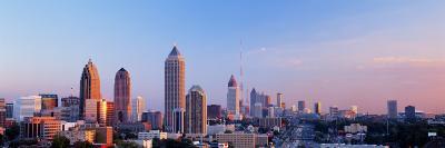 Twilight, Skyline, Atlanta, Georgia, USA--Photographic Print