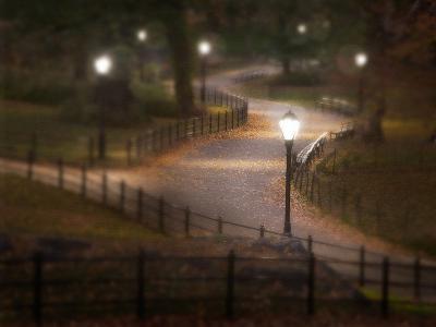 Twilight Stroll-Natalie Mikaels-Photographic Print
