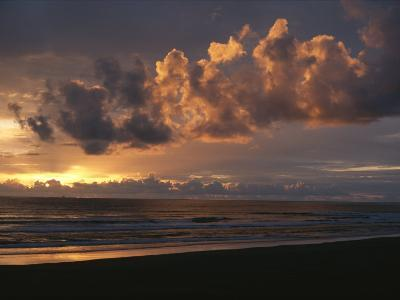 Twilight View of Pacific Ocean from Oregon Coast-Sam Abell-Photographic Print