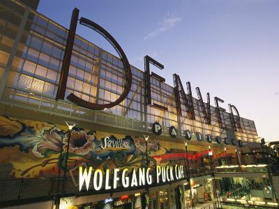 Twilight View of the Denver Pavilions Mall-Richard Nowitz-Photographic Print