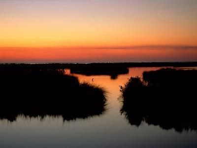 Twilight View of the Marsh-James P^ Blair-Photographic Print