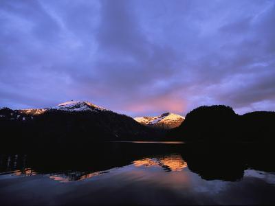 Twilight View, Punchbowl Lake, Alaska-Michael Melford-Photographic Print