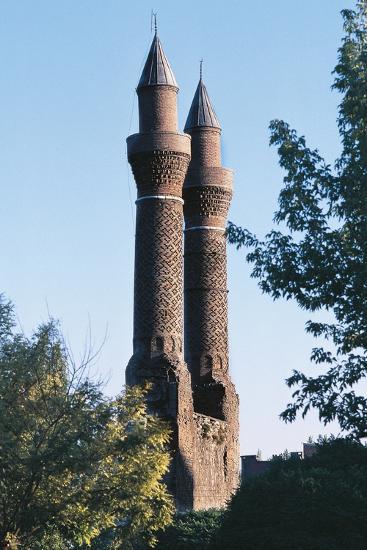 Twin Minaret Madrasa, Sivas, Central Anatolia, Turkey--Photographic Print
