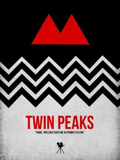 Twin Peaks-David Brodsky-Premium Giclee Print