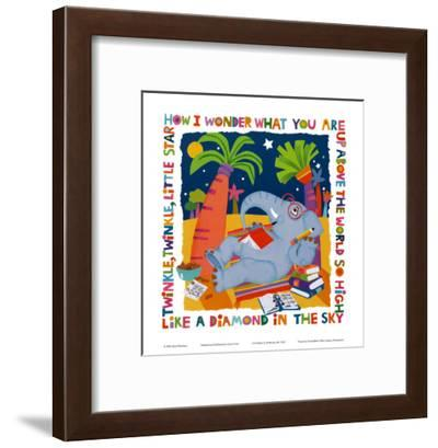 Twinkle, Twinkle-Cheryl Piperberg-Framed Art Print