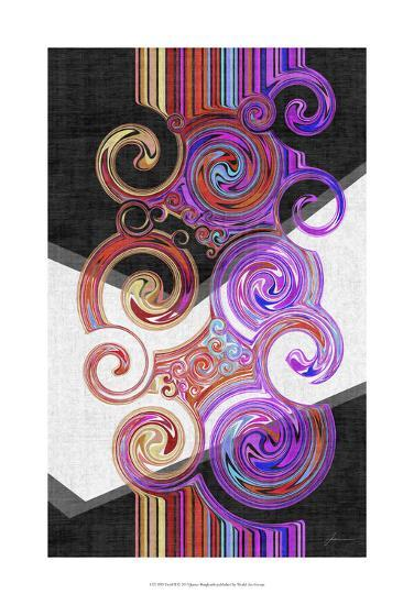 Twirl II-James Burghardt-Art Print