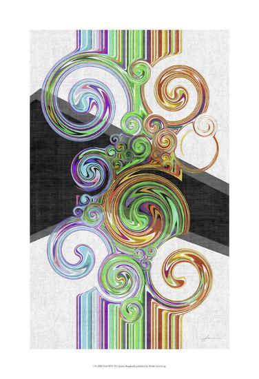 Twirl III-James Burghardt-Art Print