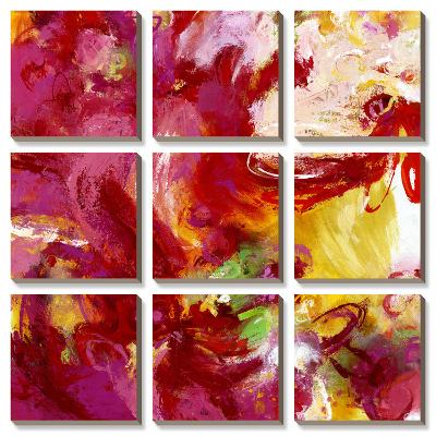 Twirl Me-Janet Bothne-Canvas Art Set