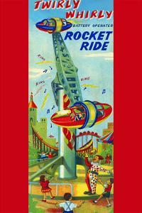 Twirly Whirly Rocket Ride