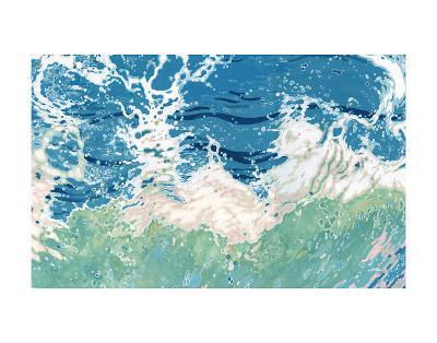 Twisting and Twirling Waves-Margaret Juul-Art Print