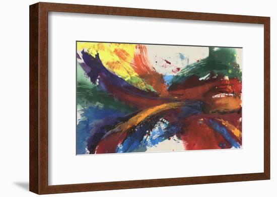 Twisting Rainbow I-Jennifer Goldberger-Framed Art Print