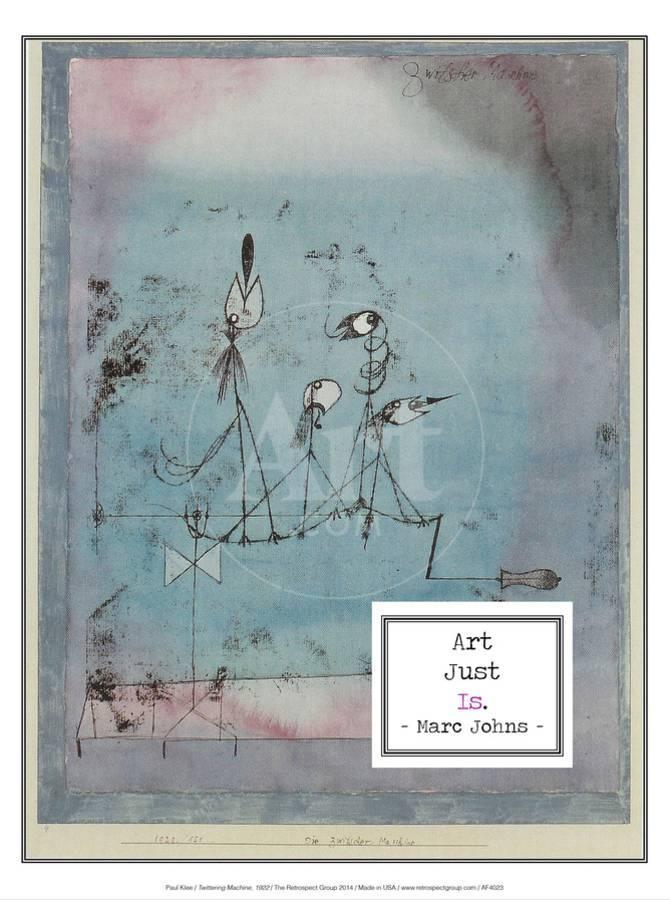 Twittering Machine >> Twittering Machine 1922 Art Print By Paul Klee Art Com