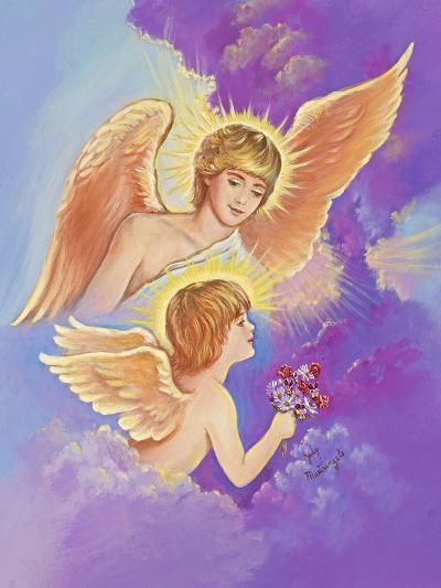 Two Angels-Judy Mastrangelo-Giclee Print