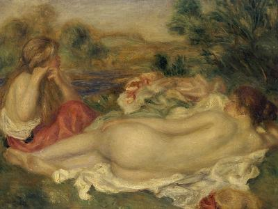 Two Bathers, 1896-Pierre-Auguste Renoir-Giclee Print