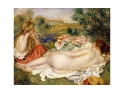 Two Bathers, 1896-Pierre-Auguste Renoir-Giclee Print