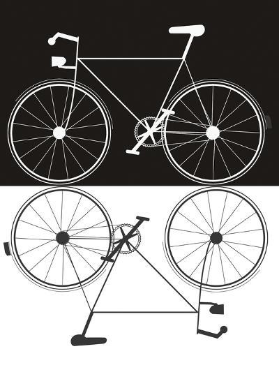 Two Bikes-Jan Weiss-Art Print