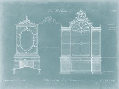 Two Bookcases-Thomas Chippendale-Art Print