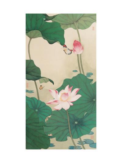 Two Butterflies and Lotuses-Hsi-Tsun Chang-Giclee Print